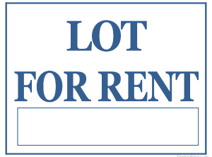 HUTCHINSON – Lots for Rent